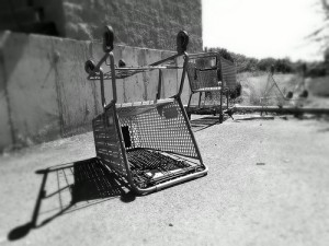 abandoned shopping cart - image by r.nial.bradshaw