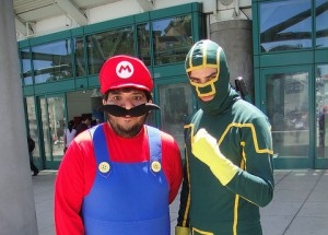 two fictional characters get ready to kick your competitors ass!