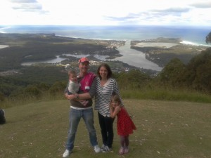 My family and me in Australia :)