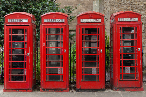 UK leads the way in mobile phone useage.. sad goodbyes to the traditional red phone booth
